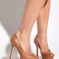 report signature - women's juno hidden platform pumps (taupe) - Report Footwear | 80's Purple