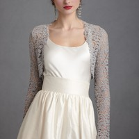 Lady Grey Shrug in  SHOP Bridesmaids  Partygoers Cover Ups at BHLDN