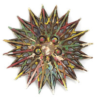 EcoVolveNow Recycled Hubcap 2 by Art for Non-Profit