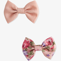 Georgette Bow Hair Clips