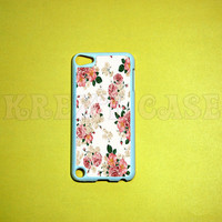 iPod Touch 5 Case, Vintage Flower iPod touch 5 Cases, iPod touch 5G Cover,Case for iPod touch 5