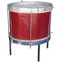 EcoVolveNow Guatemalan Drum Table