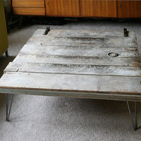 EcoVolveNow Island Barn Coffee Table