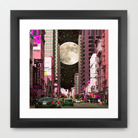 City Nights Framed Art Print by SSC Photography | Society6