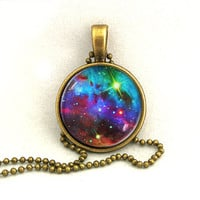 10% SALE Necklace Galaxy Shining Jewelry Universe Space Pendant Necklaces,Constellation,Gift For Her