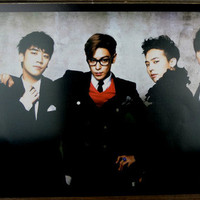 KPOP KOREAN MUSIC BIGBANG #8 THICK QUALITY EMBOSSED COATED POSTER