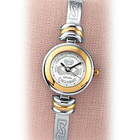 Claddagh Two-Tone Watch - Shop Irish