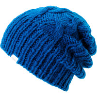 Coal Girls Parks Blue Cable Knit Beanie