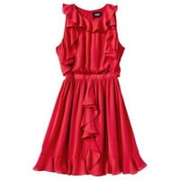 Prabal Gurung For Target® Ruffle Dress -Apple Red