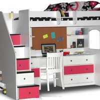 New Fergie&#x27;s Stairway Loft Bed