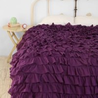 Waterfall Ruffle Duvet Cover-