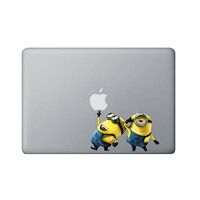 Despicable Me Minions Macbook Decal Macbook by titansgraphics