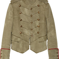 Joseph | Nathe cotton and linen-blend military jacket | NET-A-PORTER.COM