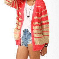 Graduated Colorblock Cardigan | FOREVER 21 - 2040494925