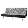 Union Zebra Print Futon