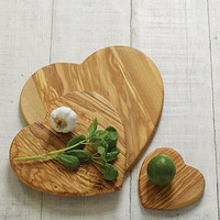 heart cutting board by velvet brown | notonthehighstreet.com