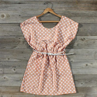 Lucky Horse Belted Dress, Sweet Women's Country Clothing