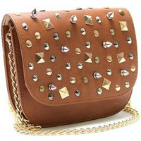 Love Lee Boutique  studded cross-body purse