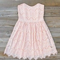 Sitting Pretty Lace Dress