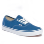 Vans Canvas Authentic Sneakers in Navy Blue