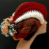 Winter Fashion Crochet Hat.  Autumn Fashion Hat.
