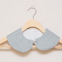 Peter Pan Collar - Detachable Peter Pan Collar in grey/gray