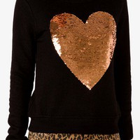 Sequined Heart Pullover | FOREVER 21 - 2000050041