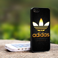 ADIDAS GOLd - Print on Hard Cover For iPhone 4/4S Case and iPhone 5 Case (Black, White, Clear)