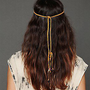 Free People  Clothing Boutique &gt; Stone Headband with Tassel