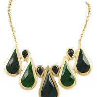Emerald Rain Necklace – Modeets.com