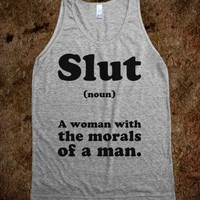 Slut (Noun) - Text First