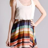 Lollipop Striped Dress in Dresses at Frock Candy