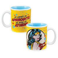 "TOY JOY - Wonder Woman 12 oz ""Beautiful"" Mug"