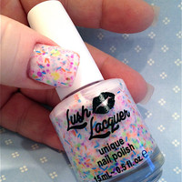 NEW--Haywire:  Custom-Blended Glitter Nail Polish / Lacquer