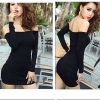 Vixen Boutique — Off Shoulder Dress