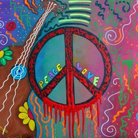 Peace and Love 2 Art Prints by Laura Barbosa - Shop Canvas and Framed Wall Art Prints at Imagekind.com