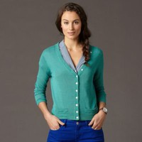 FOSSIL Clothing Sweaters:Womens Anna Cropped Cardigan WC2655