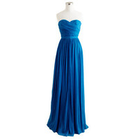 Arabelle long dress in silk chiffon - evening &amp; dinner - Women&#x27;s dresses - J.Crew