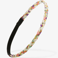 Chained Braided Headband | FOREVER 21 - 1036135402