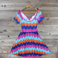 Jack Creek Chevron Dress, Sweet Women&#x27;s Country Clothing