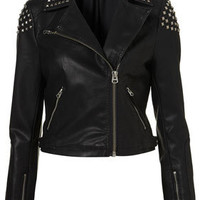 Studded Biker Jacket - Seasonal Offers  - Sale &amp; Offers