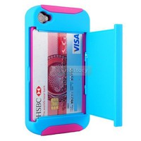 Blue/Pink Credit Card Ha...