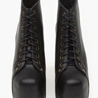 Lita Platform Boot - Black