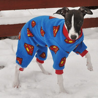 Superman Dog Pajamas
