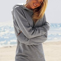 Classic Fleece Hooded Tunic