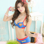 Super Girl Ladies Sexy Lingerie underwear & Bras Women Skirt superman Girl's