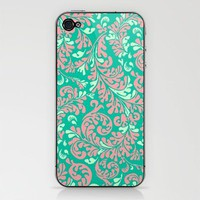 Vintage Wallpaper No.6 Phone Skin by Romi Vega | Society6