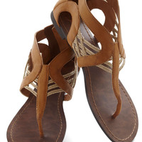 Talking Drum Sandal | Mod Retro Vintage Sandals | ModCloth.com