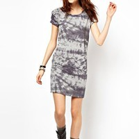 River Island Printed T-Shirt Dress at asos.com