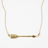 Straight Shot Necklace